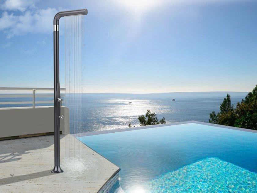 Polyethylene outdoor shower FUNNY YANG TOPLINE by ARKEMA DESIGN