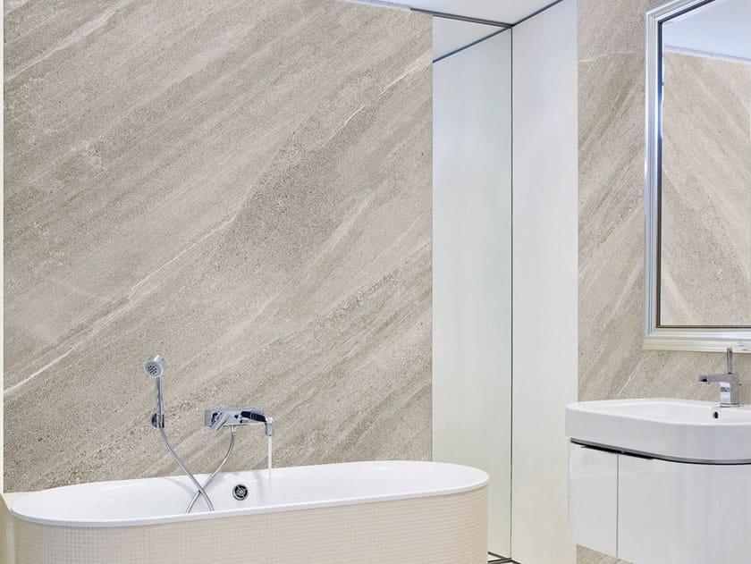 Resin Decorative panel FUQUA by Tecnografica