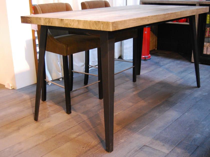 Oak dining table FUSEAU by CABUY D.