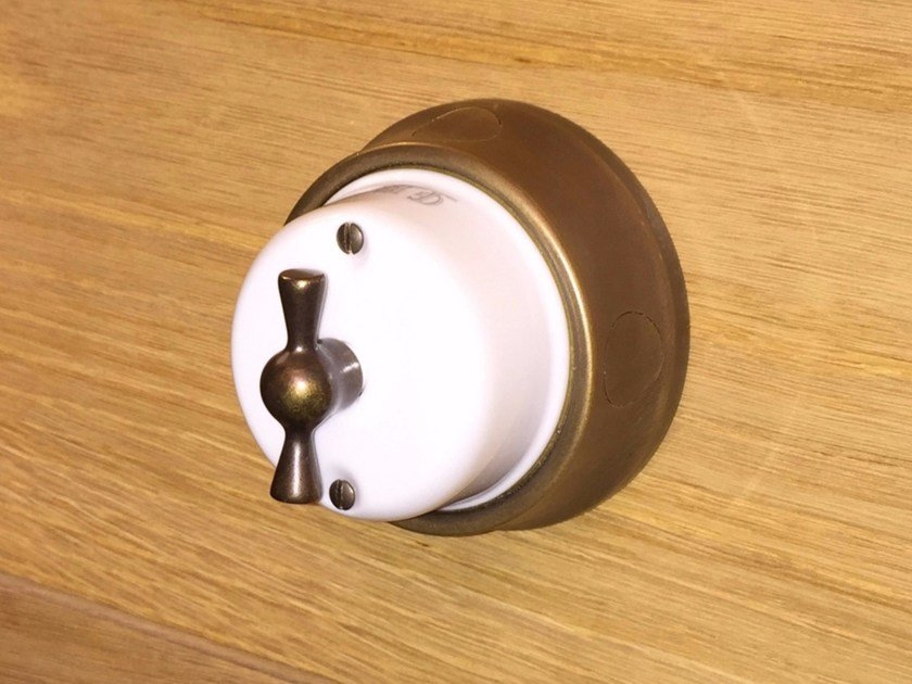 Electrical socket FUSION - 2 by GI Gambarelli