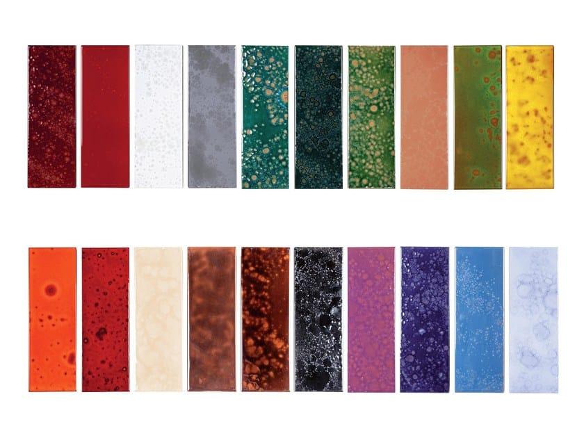 Indoor faïence wall tiles FUSION BATLLÒ | Sampling by Danilo Ramazzotti