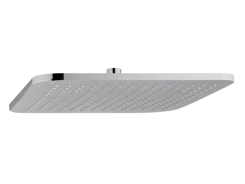 Ceiling mounted extra flat rain shower FUSION | Ceiling mounted overhead shower by AQUAelite