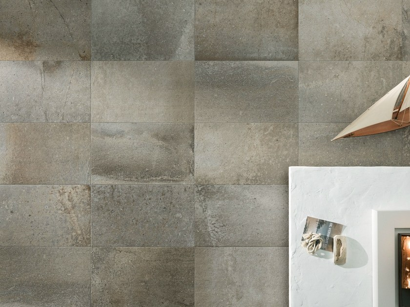 Porcelain stoneware wall/floor tiles with stone effect FUSION GREYS by ASTOR CERAMICHE