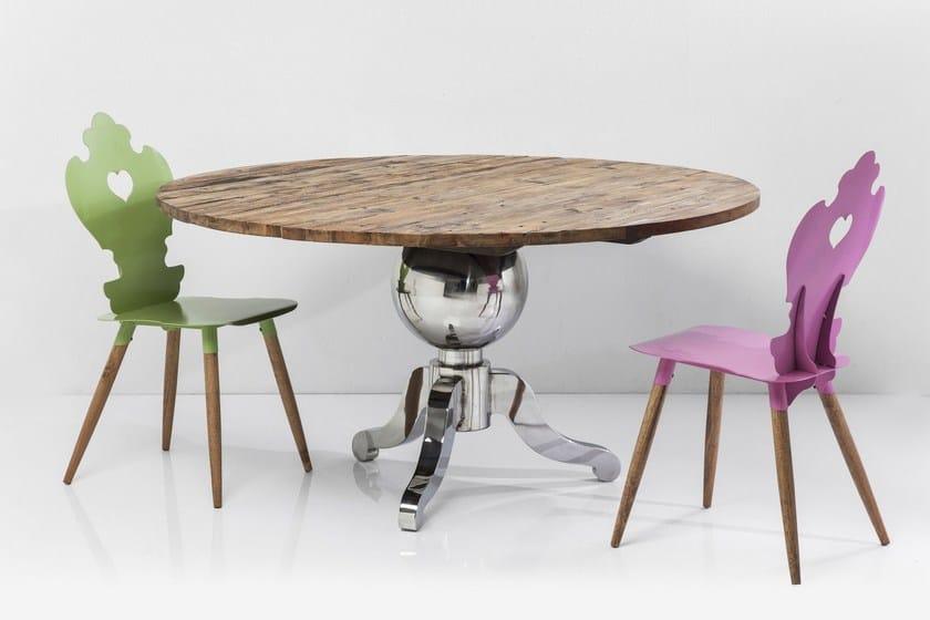 Fusione runder tisch by kare design for Runder tisch design