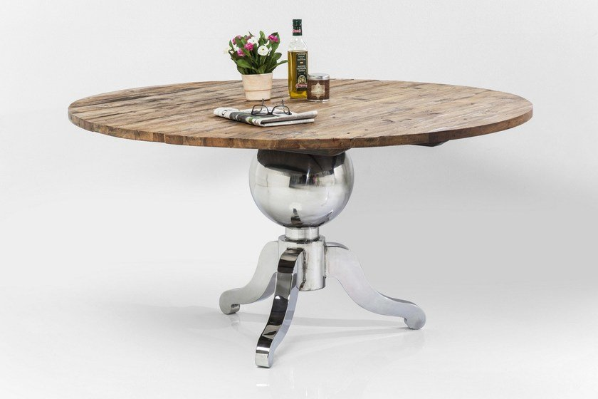 Fusione runder tisch by kare design for Kare design tisch bijou steel