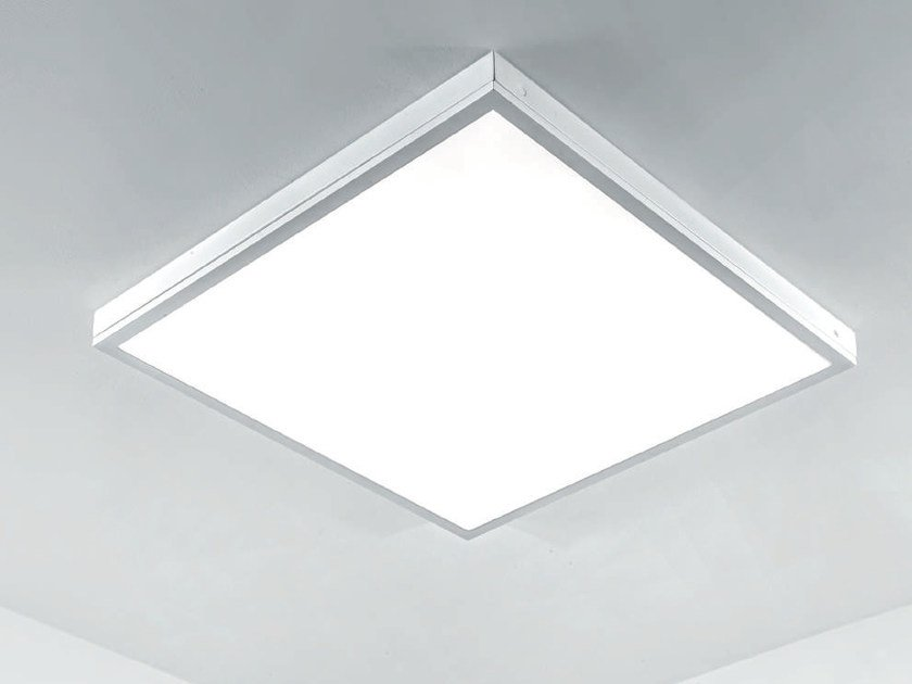 LED methacrylate ceiling lamp FUTURA   Ceiling lamp by Plexiform