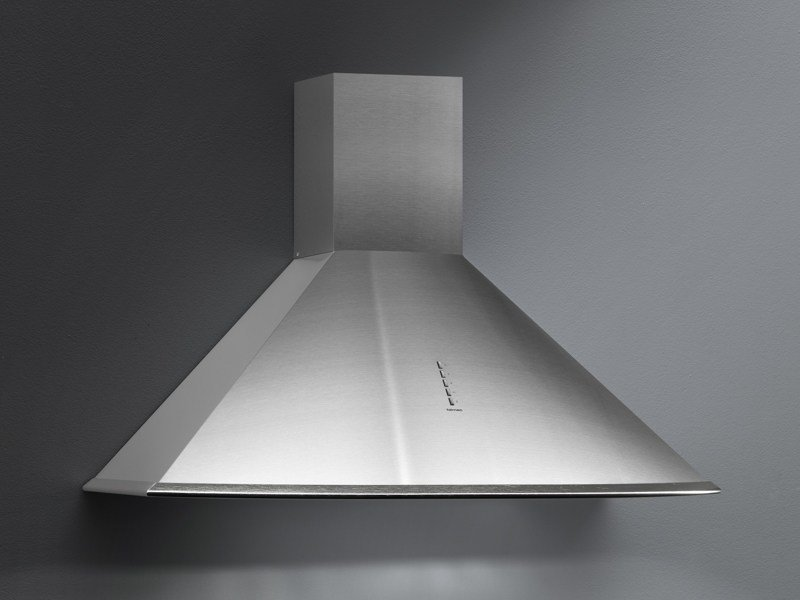 Wall-mounted stainless steel cooker hood FUTURA EXPORT by Falmec