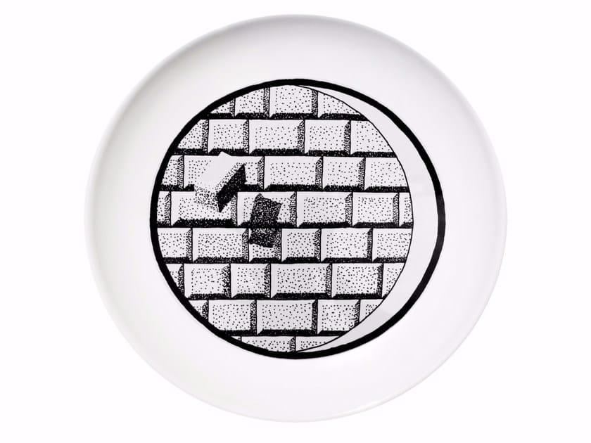 Ceramic dinner plate FUTURE by Kiasmo