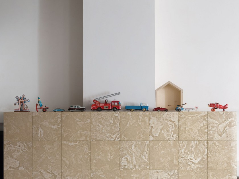 Rivestimento / pavimento in gres porcellanato FUTURO ANTERIORE - PAGLIERINO by ORNAMENTA
