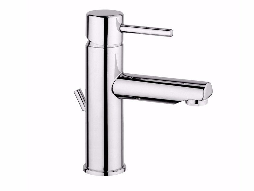 Countertop single handle washbasin mixer FUTURO - F6505A by Rubinetteria Giulini