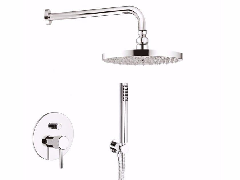 Miscelatore per doccia con deviatore con soffione futuro f kb