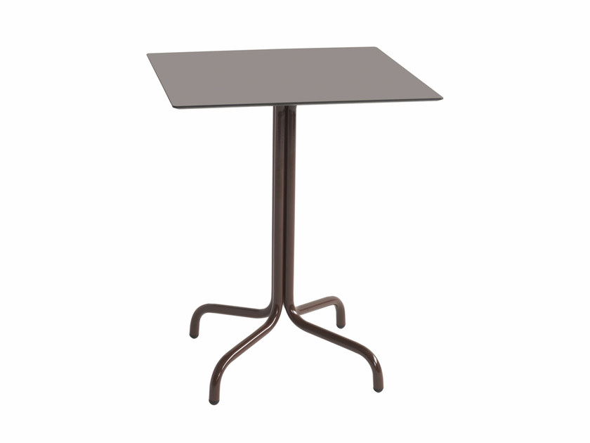 Square table FX 520 by Metalmobil