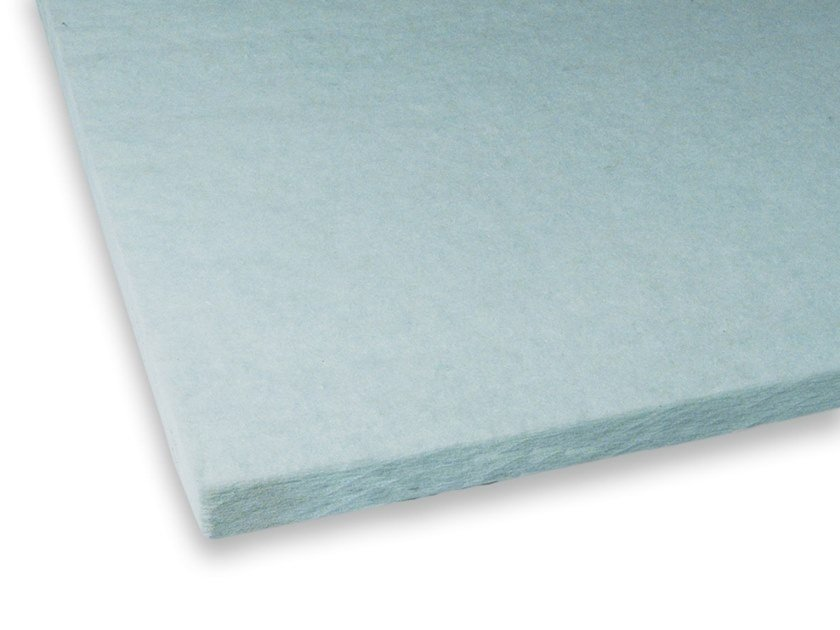 Polyester fibre thermal insulation panel / sound insulation panel FYBRO by Isolgomma