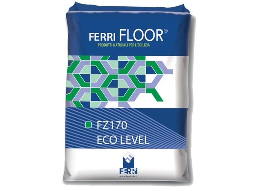 Self-levelling screed FZ170 ECO LEVEL by Ferrimix