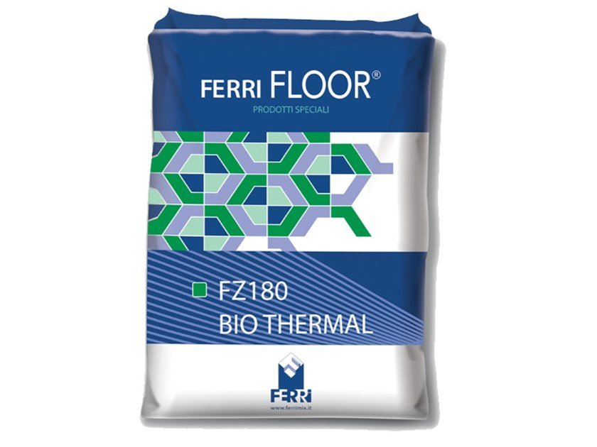 Self-levelling screed FZ180 BIO THERMAL by Ferrimix