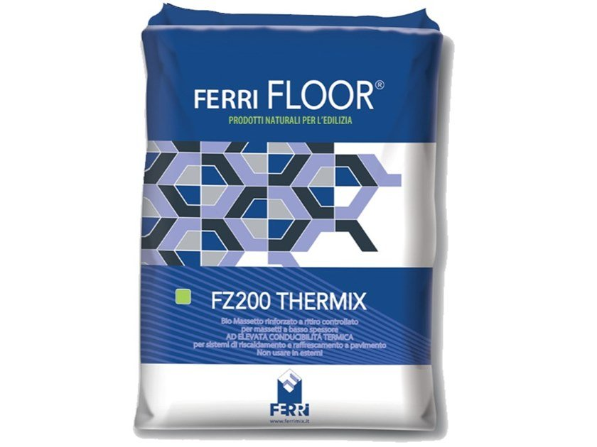 Screed and base layer for flooring FZ200 THERMIX by Ferrimix