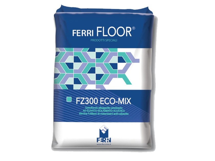 Screed and base layer for flooring FZ300 ACUMIX by Ferrimix
