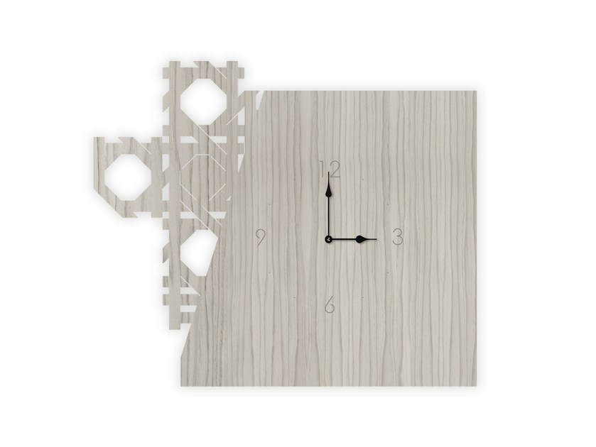 Wall-mounted MDF clock G-415 | Clock by LAS