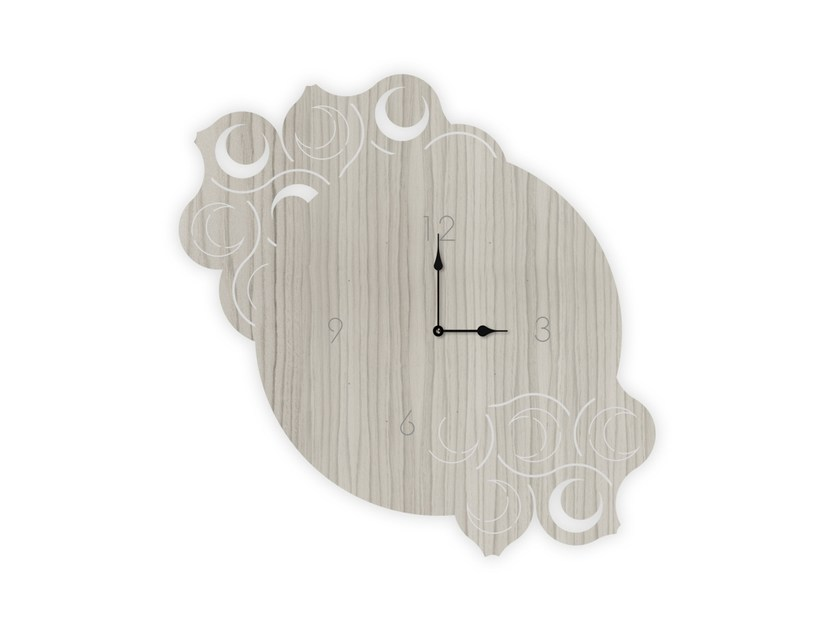 Wall-mounted MDF clock G-426 | Clock by LAS