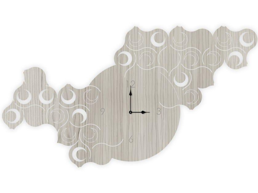Wall-mounted MDF clock G-426L | Clock by LAS