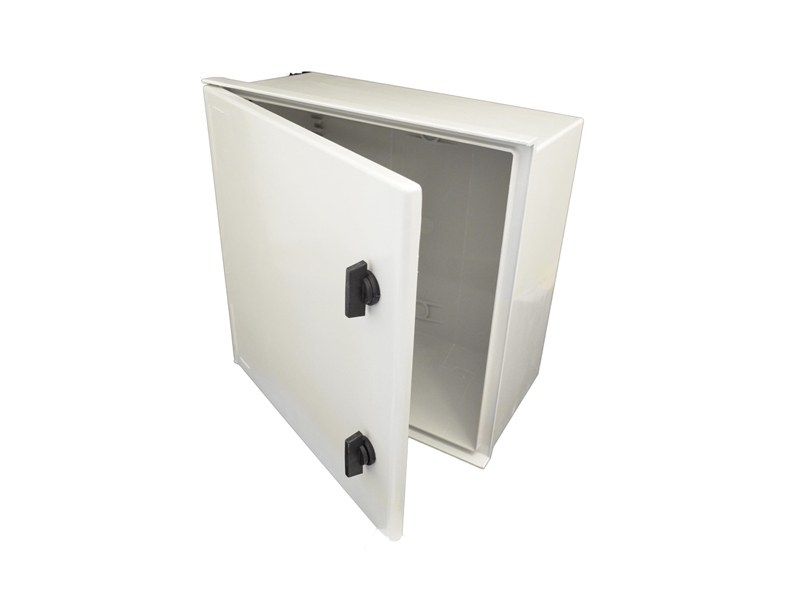 Polyester enclosure cabinet G.R.P.ENCL IP66 400X400X200 by Garo