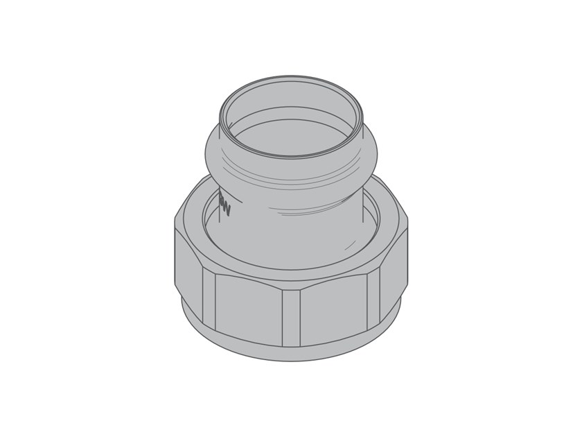 Crimp fitting G6 Fittings with tapered seals by TECO