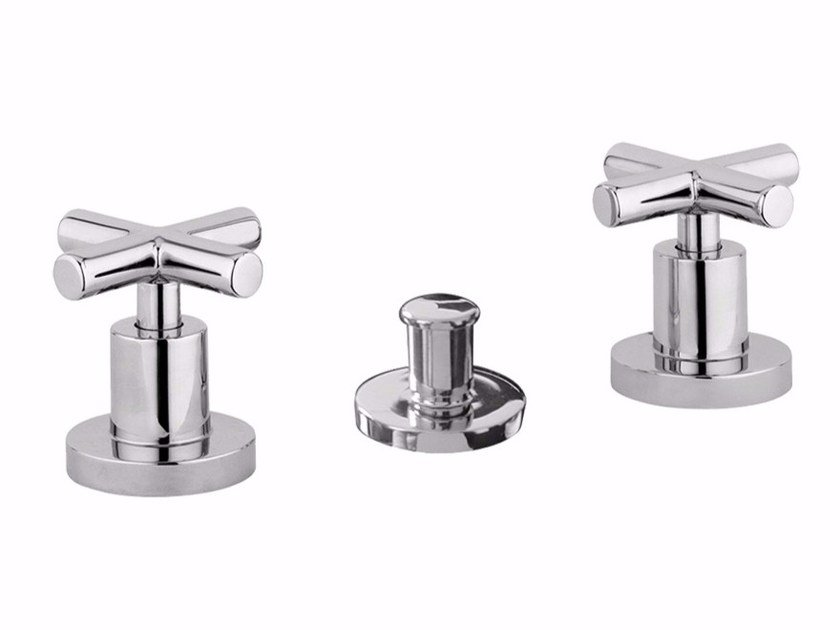 3 hole countertop bidet tap G3 - F7613A by Rubinetteria Giulini