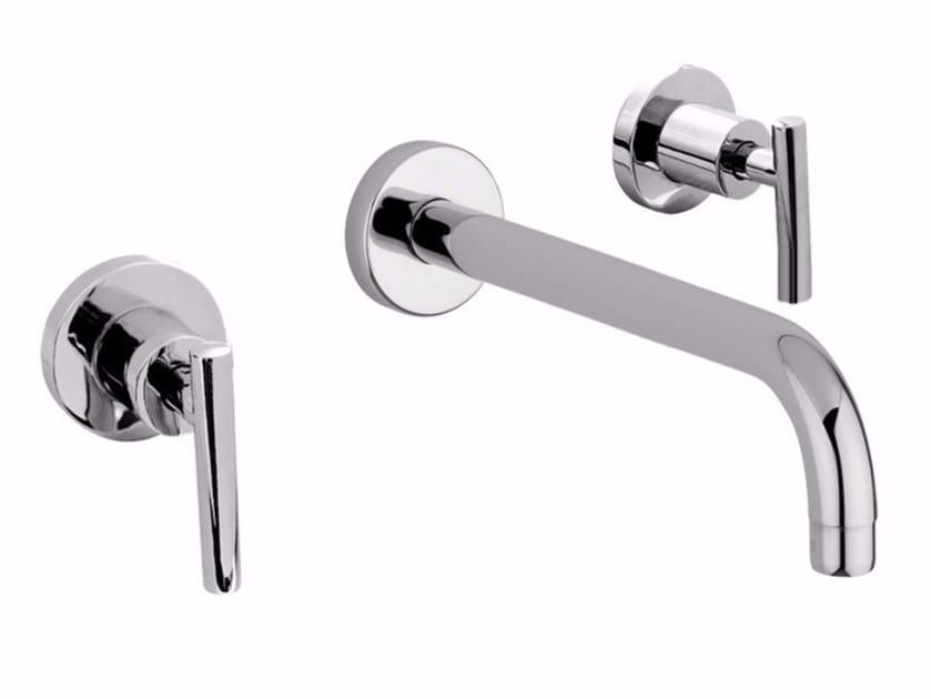 3 hole wall-mounted washbasin tap G4 - F7723 by Rubinetteria Giulini