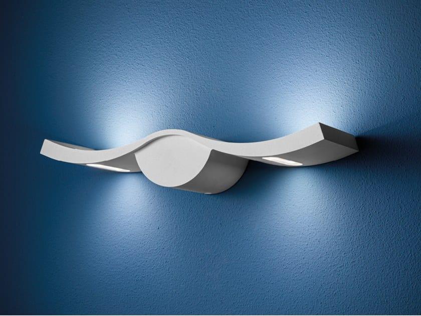 Lampada da parete per esterno in alluminio pressofuso con dimmer GABBIANO by AiLati