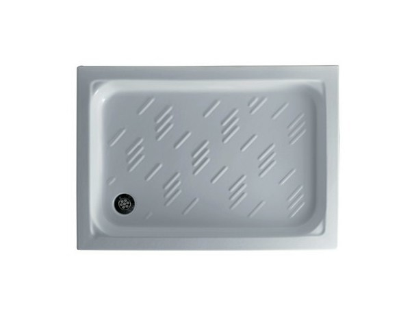 Anti-slip rectangular shower tray GABBIANO by GALASSIA