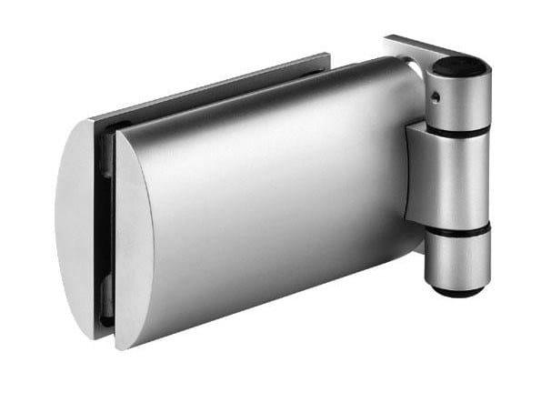 Metal glass door hinge GAHA1L | Hinge by Serrature Meroni