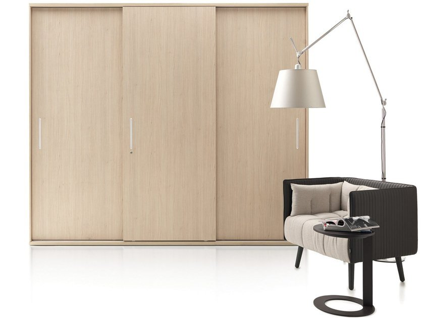 Tall office storage unit with sliding doors GALAXY SCORREVOLE | Tall office storage unit by Martex