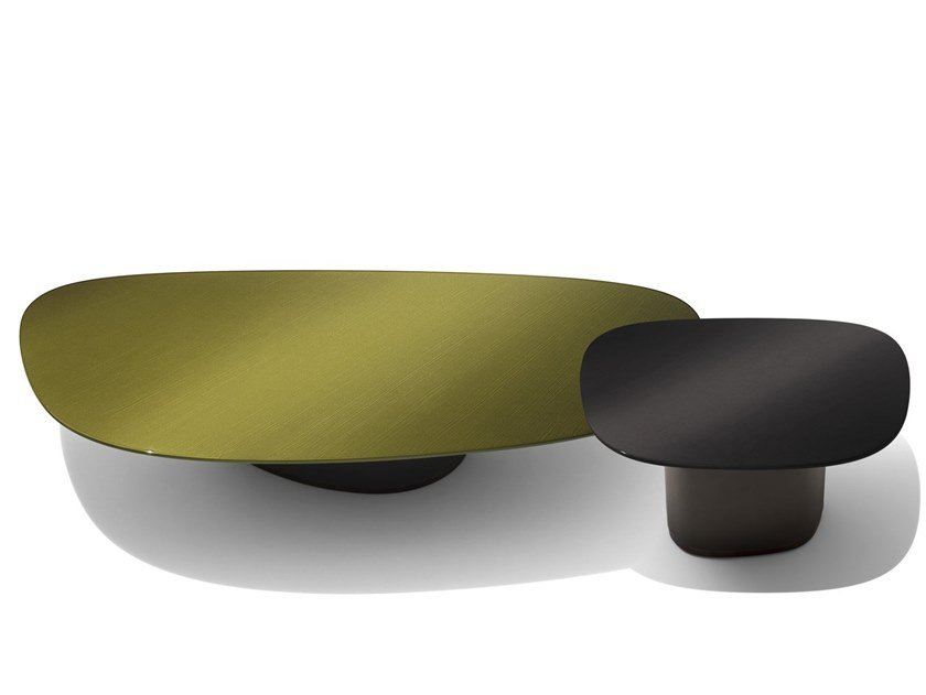 Lacquered Coffee Table For Living Room GALET | Lacquered Coffee Table By  GIORGETTI