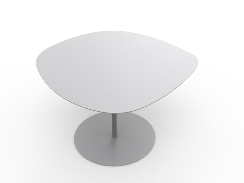 Powder coated steel coffee table GALET N°1 | Coffee table by Matière Grise