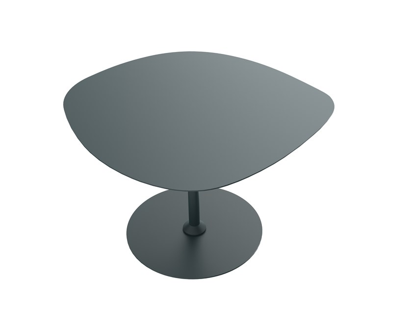Powder coated aluminium garden side table GALET N°1 | Garden side table by Matière Grise