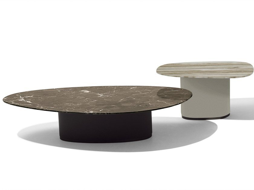 Marble coffee table GALET | Marble coffee table by GIORGETTI