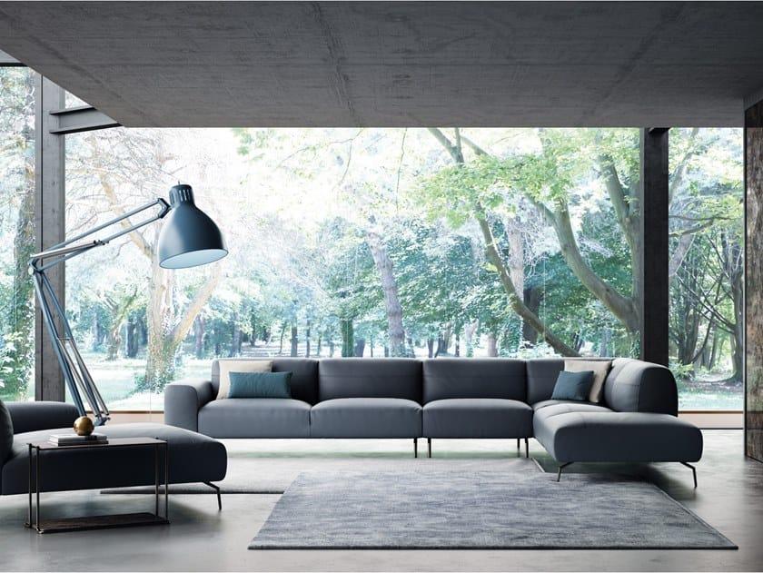 Corner sectional sofa GARDA | Corner sofa by NICOLINE