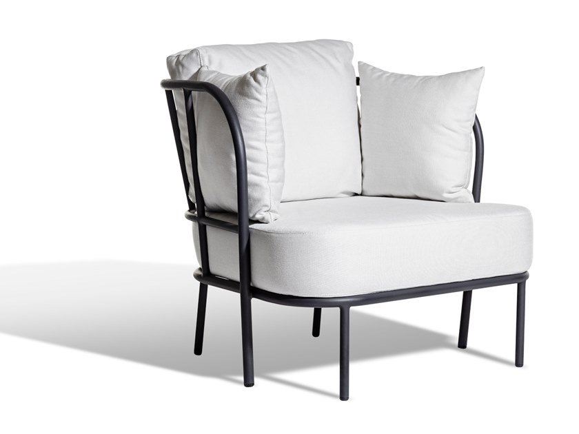 Sunbrella® garden armchair with armrests SALTÖ | Garden armchair by Skargaarden