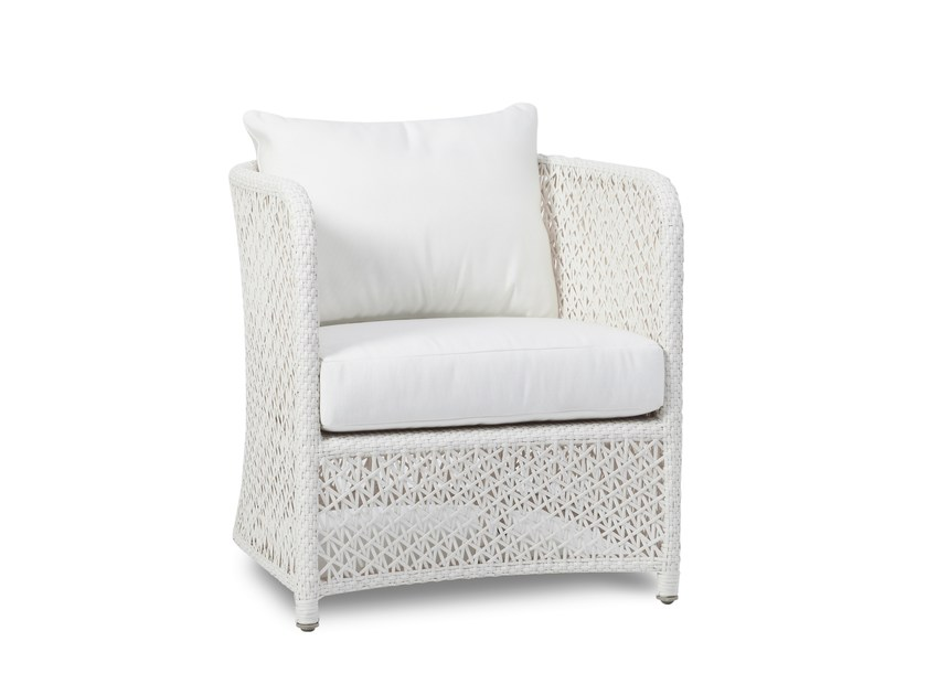 Garden armchair with armrests TUSCANY | Garden armchair with armrests by 7OCEANS DESIGNS