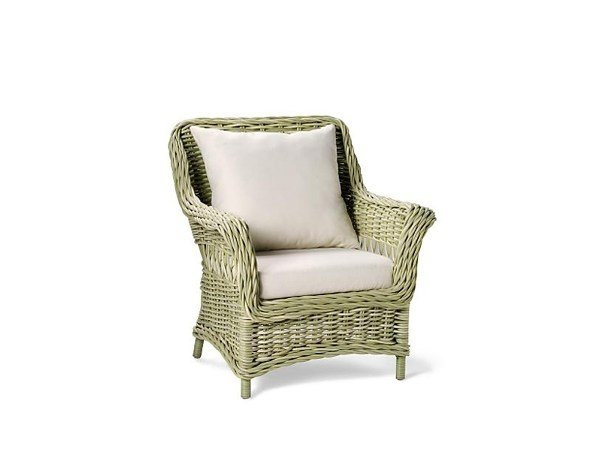 Garden armchair with armrests CHATHAM | Garden armchair with armrests by 7OCEANS DESIGNS