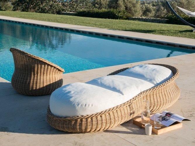 Synthetic fibre garden bed MAMY   Garden bed by Unopiù