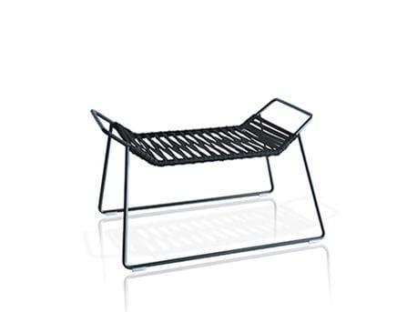 Polyester garden bench OUT_LINE | Garden bench by EXPORMIM