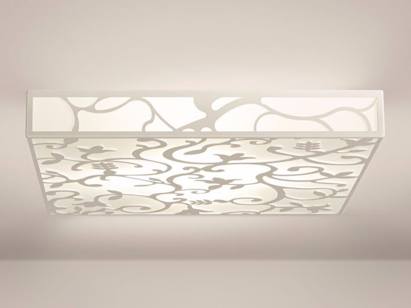 Indirect light ceiling light GARDEN | Ceiling light by Gibas