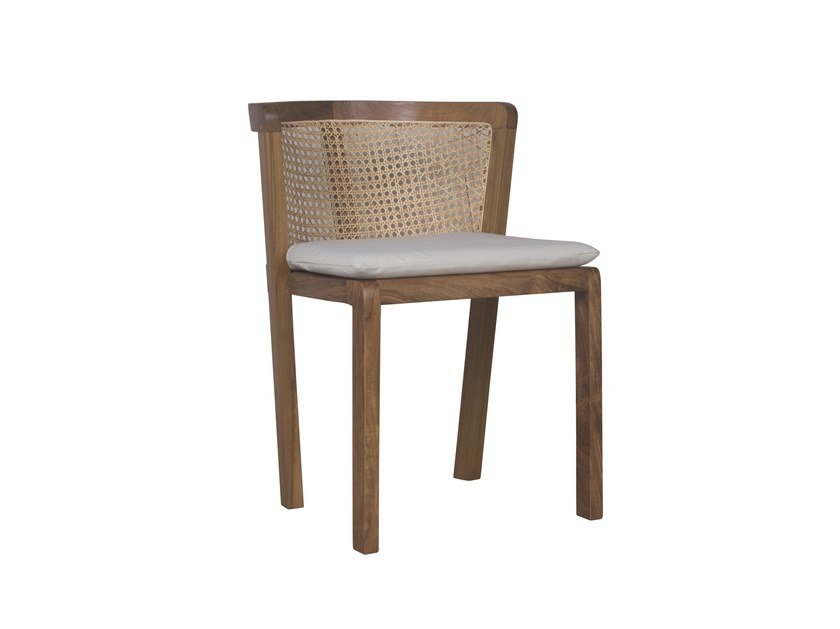 Rattan garden chair DUAL | Garden chair by Il Giardino di Legno
