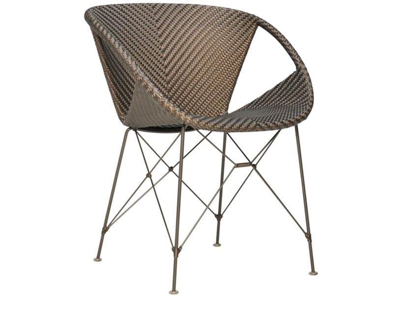 JanusFiber® garden chair with armrests SUKI   Garden chair by JANUS et Cie