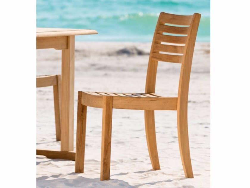 Teak garden chair BRIDGET | Garden chair by Unopiù