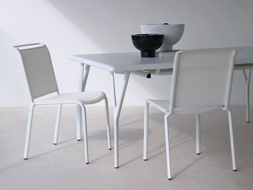 Aluminium garden chair ATLANTIS | Garden chair by Unopiù