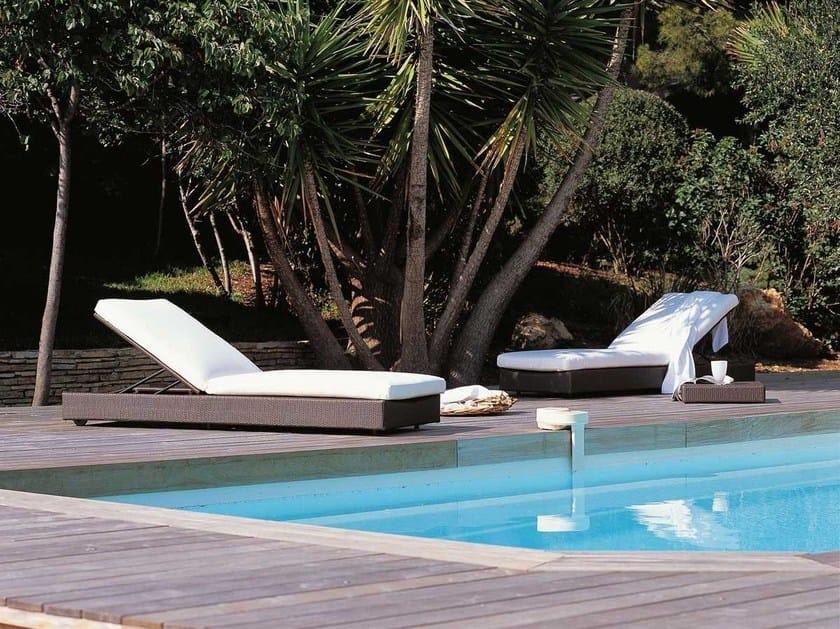 Recliner garden daybed SUNLACE | Garden daybed by Unopiù