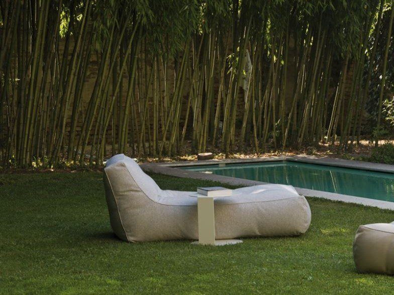 Fabric garden daybed ZOE | Garden daybed by Verzelloni