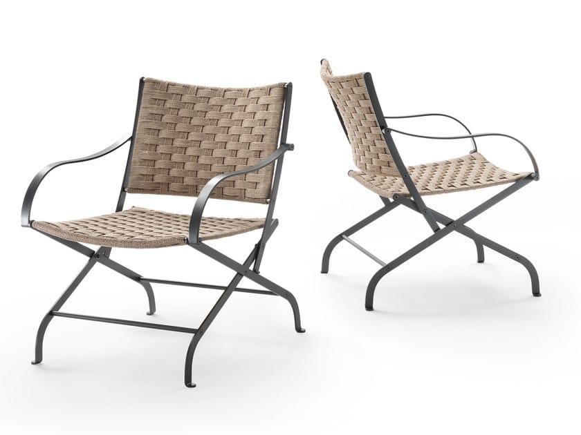 Outdoor polypropylene easy chair CARLOTTA OUTDOOR | Easy chair by Flexform